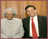 Honorable Dr. APJ Abdul Kalam, ex-President of INDIA