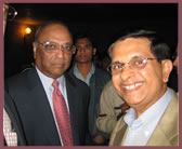 With Dr. C.K.Prahlad at IIM Ahmedabad, India